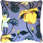 P.Westwell Lobiscus Velvet cushion in Fervour Purple