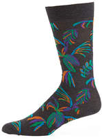 Pantherella Tuvalu Floral Cotton-Blend Socks