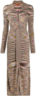 Missoni Abstract Print Cardi-Coat