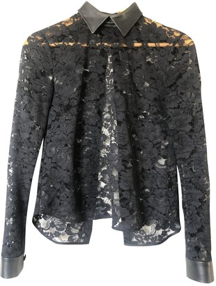 Christopher Kane Black Lace Tops
