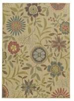 Tommy Bahama Cabana Collection Floral 3-Foot 10-Inch x 5-Foot 5-Inch Rug