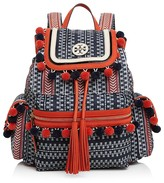 Tory Burch Scout Pom Pom Backpack