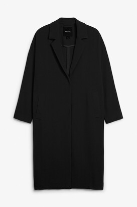Monki Long dressy coat