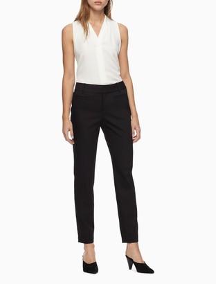 Calvin Klein Modern Essentials Stretch Ankle Pants