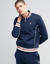 Fila Vintage Track Jacket With Retro Collar