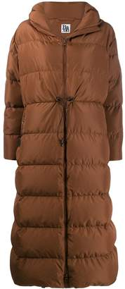 Bacon hooded padded coat