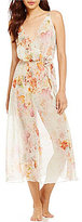 Flora Nikrooz Peggy II Floral Chiffon Nightgown