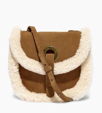UggUGG Heritage Suede Crossbody Bag