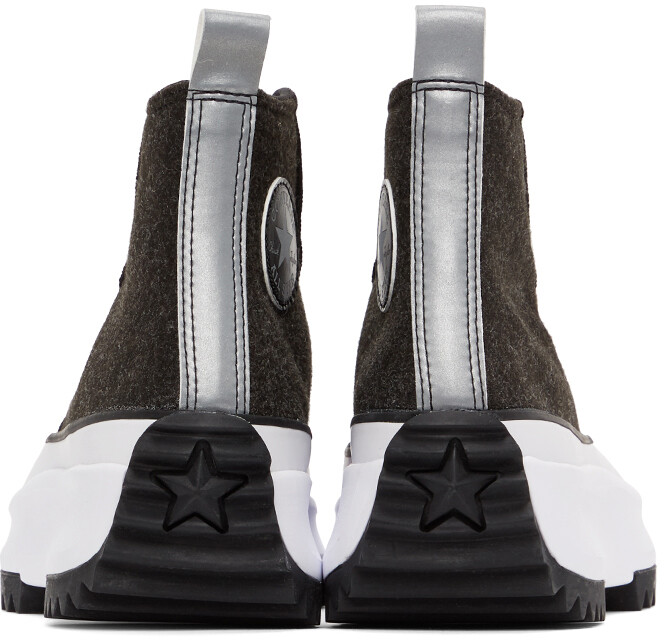 Thumbnail for your product : Converse Black Run Star Hike High-Top Sneakers