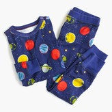 J.Crew Kids' pajama set in glow-in-the-dark planets