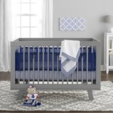 BreathableBaby 3 Piece Core Bedding Set, Navy by