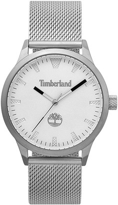Timberland Men's Stainless Steel Mesh Band Watch