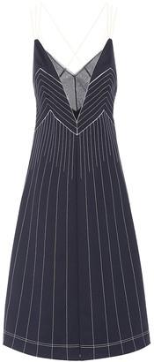 Valentino Techno jersey midi dress