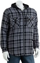 Dickies hooded flannel shirt - men