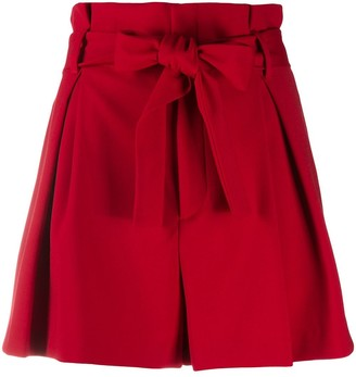 RED Valentino Bow Fastening High-Waisted Shorts