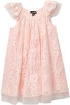 Zunie Fluffy Novelty Lace Dress (Toddler & Little Girls)