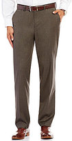 Daniel Cremieux Chambers Classic-Fit Flat-Front Solid Stretch Pants