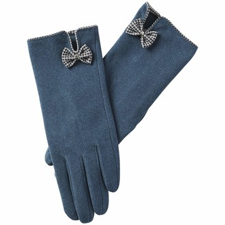 Tickled Pink Women's Isla Bow Gloves One Size