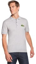 Lacoste Tall Short Sleeve Oversized Crocodile Pique Polo
