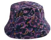 Floral Paisley Print Bucket Hat