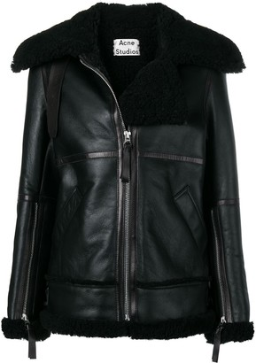 Acne Studios Aviator Shearling Jacket