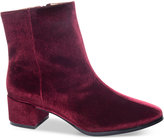 Wine Booties Shopstyle