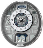 Seiko Melodies in Motion Silver-Tone Wall Clock