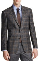 Hart Schaffner Marx Hart Shaffner Marx Platinum Label Subtle Plaid Classic Fit Sport Coat - 100% Bloomingdale's Exclusive