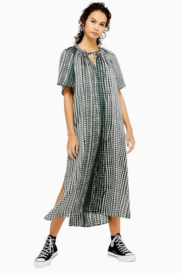 Topshop Print Smock Maxi Dress