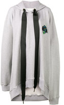Marques Almeida Marques'almeida - oversized hoodie dress - women - Cotton - L