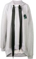 Marques Almeida Marques'almeida - oversized hoodie dress - women - Cotton - S