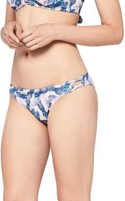 Iris & Lilly Women's Swimwear Pineapple Print Bikini Bottoms