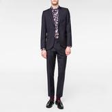 Paul Smith Men's Mid-Fit Navy Wool Suit