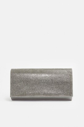 Coast Diamante Flap Clutch Bag