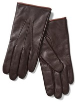 Gap Leather tech gloves