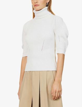 Eleventy Turtleneck wool-blend jumper