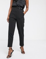Asos Design DESIGN smart slim pants in ponte