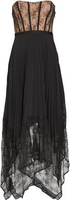 Jonathan Simkhai Scarlett Bustier Lace Midi Dress