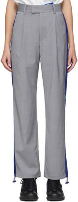 ADER error Grey Wool T-914 Spaceship Trousers