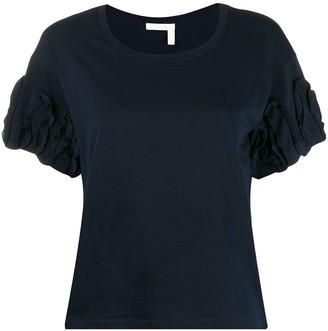 See by Chloe ruffle-sleeve T-shirt