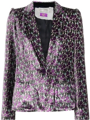 Forte Forte Abstract-Pattern Blazer