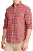 Polo Ralph Lauren Plaid Oxford Long Sleeve Button-Down Shirt
