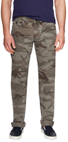 True Religion Cotton Camouflage Flap Pockets Straight Pants