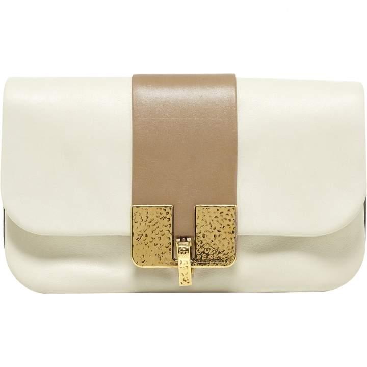 Marc Jacobs Ecru Leather Clutch bag