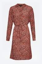 Great Plains Tigga Belted Shirt Dress