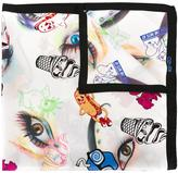 Kenzo Flyer scarf - women - Silk - One Size