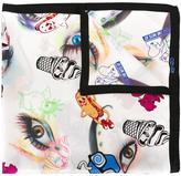 Kenzo Flyer scarf - women - Silk - One Size