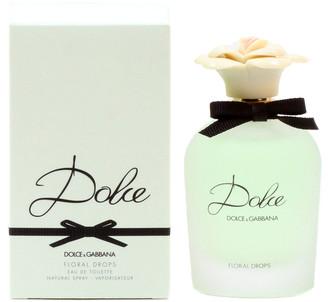 Dolce & Gabbana Women's 2.5Oz Dolce Floral Drops Eau De Toilette Spray