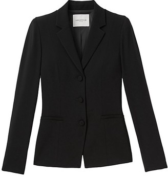 Lafayette 148 New York West Finesse Crepe Blazer
