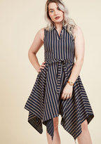 ModCloth Hanky, I Don't Give a Damn A-Line Dress in M